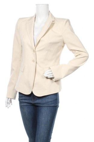 Дамско сако Patrizia Pepe, Размер XL, Цвят Бежов, 48% памук, 45% полиамид, 7% еластан, Цена 111,60лв.