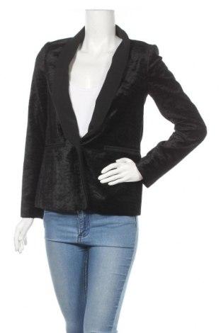 Дамско сако Pinko, Размер S, Цвят Черен, 63% памук, 34% вискоза, 3% еластан, Цена 48,00лв.