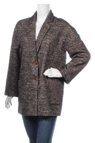 Дамско палто Silvian Heach, Размер M, Цвят Многоцветен, 80% полиестер, 20% вълна, Цена 47,17лв.
