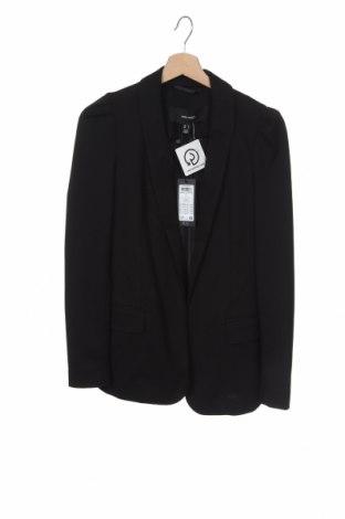Дамско сако Vero Moda, Размер XS, Цвят Черен, 73% полиестер, 22% вискоза, 5% еластан, Цена 51,75лв.
