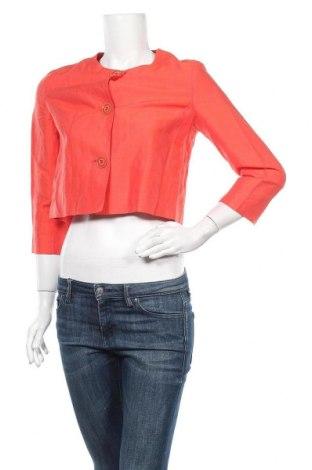 Дамско сако Weekend Max Mara, Размер S, Цвят Червен, 85% лен, 15% коприна, Цена 35,28лв.
