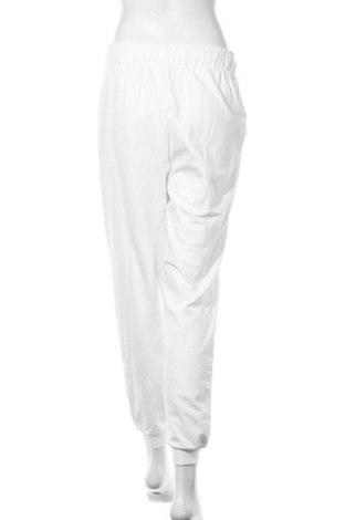 Дамско спортно долнище Anna Field, Размер S, Цвят Бял, Памук, Цена 18,04лв.