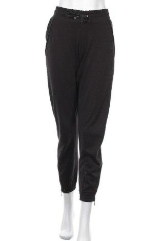 Дамско спортно долнище Bench, Размер M, Цвят Черен, 60% памук, 40% полиестер, Цена 50,37лв.