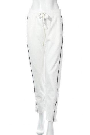 Γυναικείο αθλητικό παντελόνι H.i.s, Μέγεθος L, Χρώμα Λευκό, 60% βαμβάκι, 40% πολυεστέρας, Τιμή 17,64€