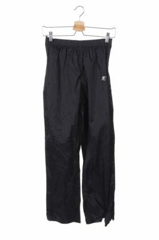 Γυναικείο αθλητικό παντελόνι K-Way, Μέγεθος XS, Χρώμα Μαύρο, Πολυαμίδη, Τιμή 12,73€