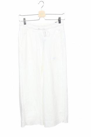 Γυναικείο αθλητικό παντελόνι Nike, Μέγεθος XS, Χρώμα Λευκό, Βαμβάκι, Τιμή 20,65€