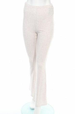 Γυναικείο αθλητικό παντελόνι Nly Trend, Μέγεθος S, Χρώμα  Μπέζ, 63% πολυεστέρας, 32% βισκόζη, 5% ελαστάνη, Τιμή 12,63€