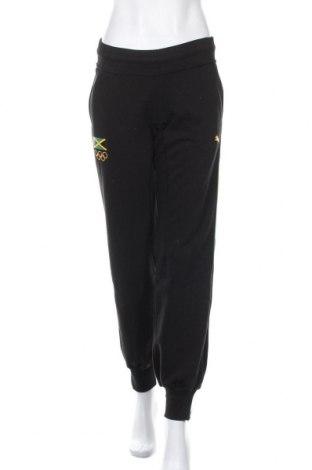 Γυναικείο αθλητικό παντελόνι PUMA, Μέγεθος S, Χρώμα Μαύρο, 80% βαμβάκι, 20% πολυεστέρας, Τιμή 29,30€