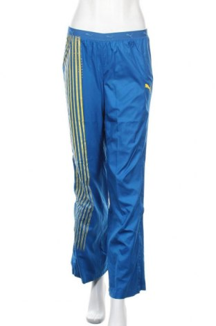 Γυναικείο αθλητικό παντελόνι PUMA, Μέγεθος S, Χρώμα Μπλέ, Πολυεστέρας, Τιμή 27,21€