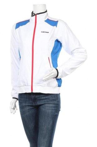 Дамско спортно горнище Head, Размер S, Цвят Бял, 100% полиестер, Цена 53,40лв.