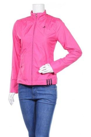 Γυναικείο μπουφάν αθλητικό Adidas, Μέγεθος S, Χρώμα Ρόζ , Τιμή 32,01€