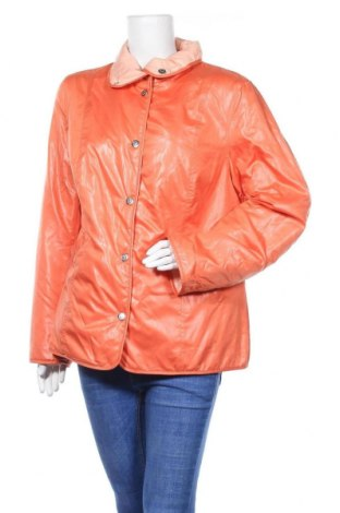 Дамско яке, Размер L, Цвят Оранжев, Полиестер, Цена 11,03лв.