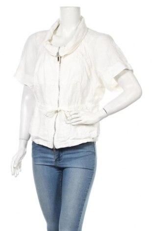 Дамско яке Armani Jeans, Размер L, Цвят Бял, Лен, Цена 48,64лв.