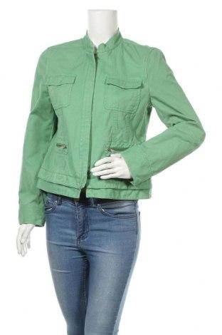 Дамско яке DKNY, Размер M, Цвят Зелен, Памук, Цена 46,08лв.