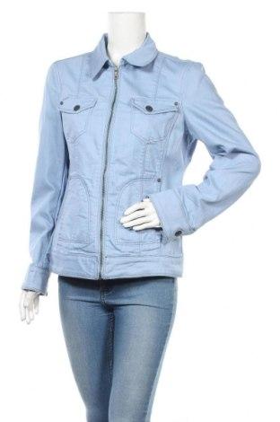 Дамско яке Esprit, Размер L, Цвят Син, 75% памук, 23% полиестер, 2% еластан, Цена 51,75лв.