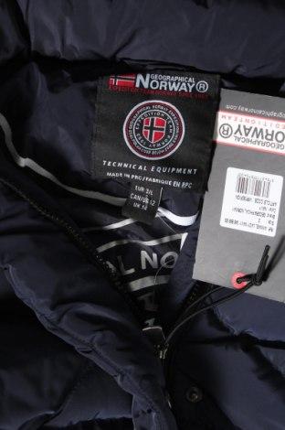 Дамско яке Geographical Norway, Размер L, Цвят Син, Полиестер, Цена 115,17лв.