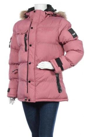 Дамско яке Geographical Norway, Размер M, Цвят Розов, Полиамид, Цена 309,00лв.