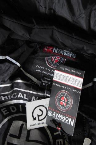 Дамско яке Geographical Norway, Размер M, Цвят Черен, Полиестер, Цена 115,17лв.