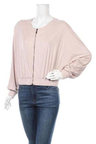 Дамско яке H&M, Размер S, Цвят Розов, 85% полиестер, 15% еластан, Цена 10,08лв.