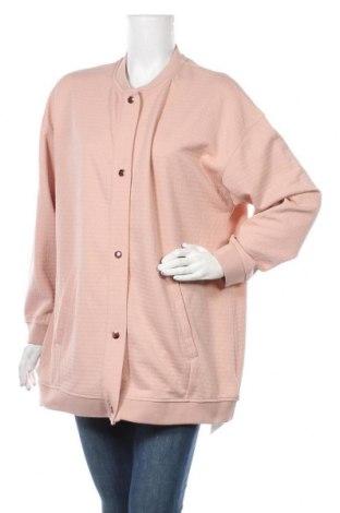 Дамско яке Marks & Spencer, Размер XL, Цвят Розов, 97% полиестер, 3% еластан, Цена 29,25лв.