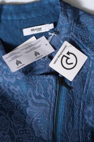 Дамско яке Myrine, Размер L, Цвят Син, 79% полиестер, 16% полиамид, 5% еластан, Цена 59,25лв.