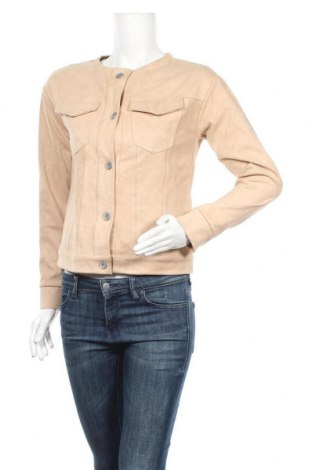 Дамско яке Please, Размер S, Цвят Бежов, 95% полиестер, 5% еластан, Цена 43,24лв.