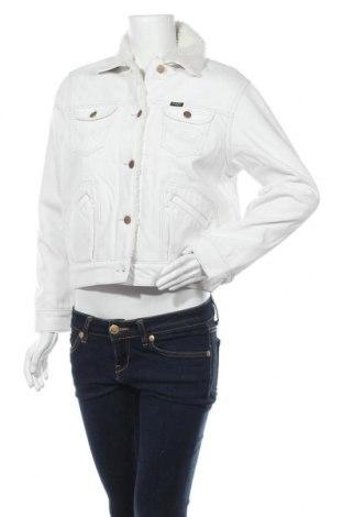 Дамско яке Wrangler, Размер XS, Цвят Бял, Памук, Цена 249,00лв.