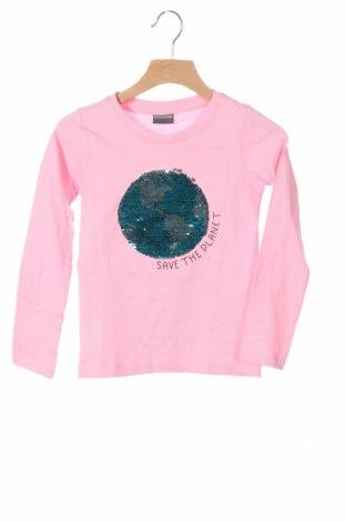 Παιδική μπλούζα, Μέγεθος 3-4y/ 104-110 εκ., Χρώμα Ρόζ , Βαμβάκι, Τιμή 7,77€