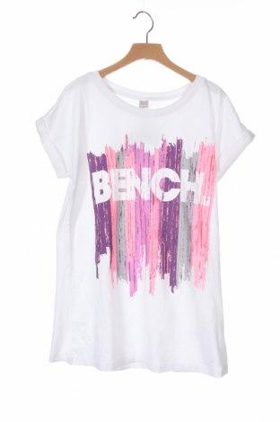 Детска блуза Bench, Размер 13-14y/ 164-168 см, Цвят Бял, Памук, Цена 27,00лв.