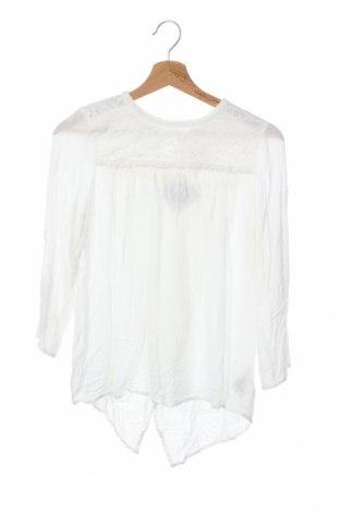 Детска блуза H&M L.O.G.G., Размер 14-15y/ 168-170 см, Цвят Бял, Вискоза, Цена 14,96лв.