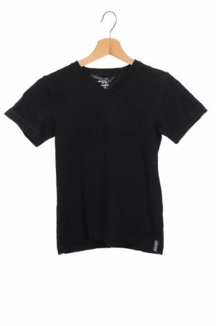 Детска блуза H&M L.O.G.G., Размер 8-9y/ 134-140 см, Цвят Черен, Памук, Цена 10,24лв.