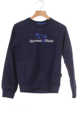 Παιδική μπλούζα Harmont & Blaine, Μέγεθος 7-8y/ 128-134 εκ., Χρώμα Μπλέ, Βαμβάκι, Τιμή 18,09€