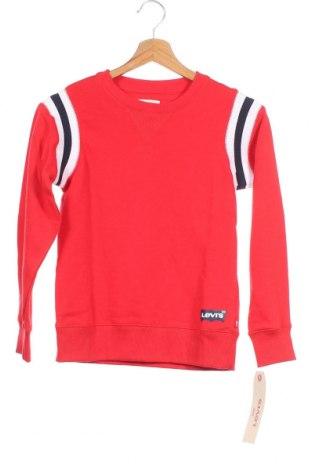 Παιδική μπλούζα Levi's, Μέγεθος 8-9y/ 134-140 εκ., Χρώμα Κόκκινο, 60% βαμβάκι, 40% πολυεστέρας, Τιμή 19,56€
