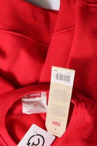 Παιδική μπλούζα Levi's, Μέγεθος 15-18y/ 170-176 εκ., Χρώμα Κόκκινο, 60% βαμβάκι, 40% πολυεστέρας, Τιμή 20,63€