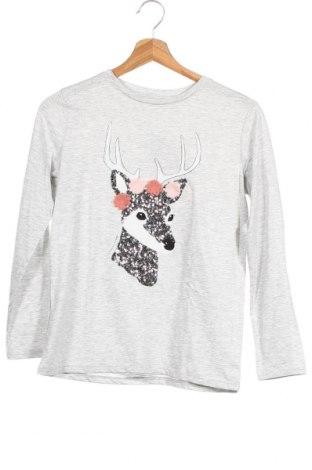 Παιδική μπλούζα Mango, Μέγεθος 10-11y/ 146-152 εκ., Χρώμα Γκρί, 54% πολυεστέρας, 46% βαμβάκι, Τιμή 10,76€