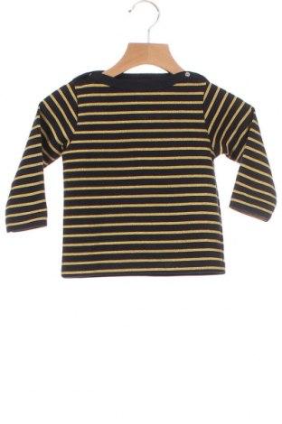 Παιδική μπλούζα Petit Bateau, Μέγεθος 12-18m/ 80-86 εκ., Χρώμα Μπλέ, 85% βαμβάκι, 11% πολυεστέρας, 4% πολυαμίδη, Τιμή 13,99€