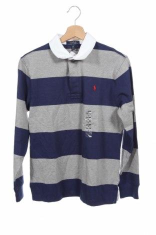 Παιδική μπλούζα Polo By Ralph Lauren, Μέγεθος 15-18y/ 170-176 εκ., Χρώμα Μπλέ, Βαμβάκι, Τιμή 24,43€