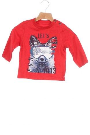 Παιδική μπλούζα Timberland, Μέγεθος 12-18m/ 80-86 εκ., Χρώμα Κόκκινο, Βαμβάκι, Τιμή 18,25€