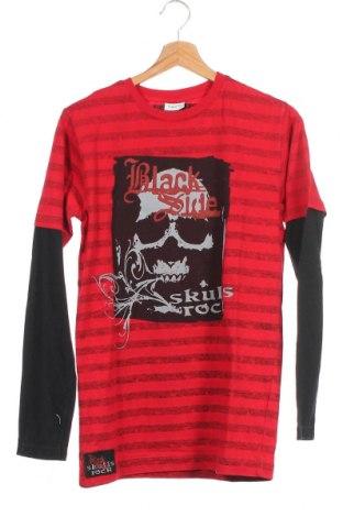 Детска блуза X-Mail, Размер 12-13y/ 158-164 см, Цвят Червен, Памук, Цена 15,12лв.