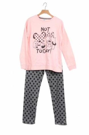 Παιδική πιτζάμα Disney, Μέγεθος 8-9y/ 134-140 εκ., Χρώμα Ρόζ , Βαμβάκι, Τιμή 16,74€