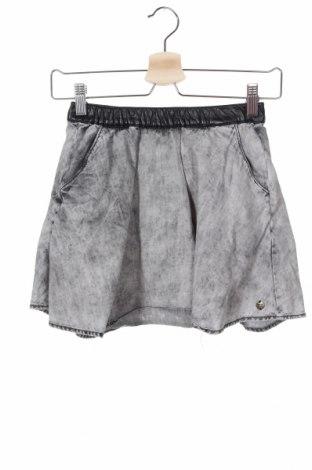 Детска пола Garcia Jeans, Размер 10-11y/ 146-152 см, Цвят Сив, Памук, Цена 17,96лв.