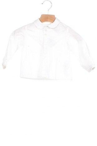Παιδικό πουκάμισο, Μέγεθος 6-9m/ 68-74 εκ., Χρώμα Λευκό, Βαμβάκι, Τιμή 10,17€