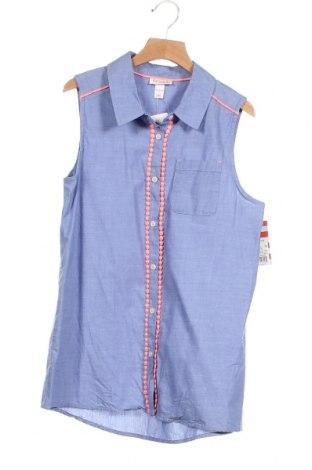 Παιδικό πουκάμισο Cat & Jack, Μέγεθος 13-14y/ 164-168 εκ., Χρώμα Μπλέ, Βαμβάκι, Τιμή 13,51€