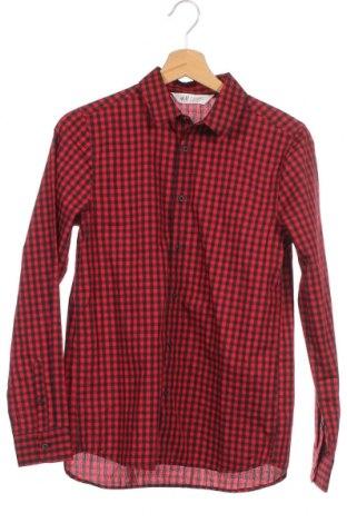 Παιδικό πουκάμισο H&M, Μέγεθος 13-14y/ 164-168 εκ., Χρώμα Μαύρο, 65% πολυεστέρας, 35% βαμβάκι, Τιμή 8,83€