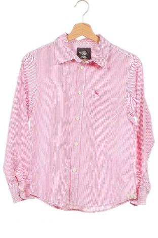 Детска риза H&M L.O.G.G., Размер 11-12y/ 152-158 см, Цвят Розов, Памук, Цена 15,17лв.