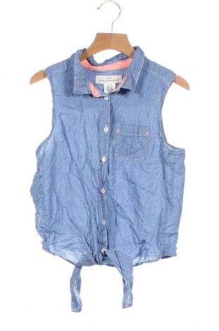 Детска риза H&M L.O.G.G., Размер 12-13y/ 158-164 см, Цвят Син, Памук, Цена 12,60лв.