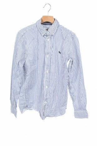 Детска риза H&M L.O.G.G., Размер 11-12y/ 152-158 см, Цвят Син, Памук, Цена 14,96лв.
