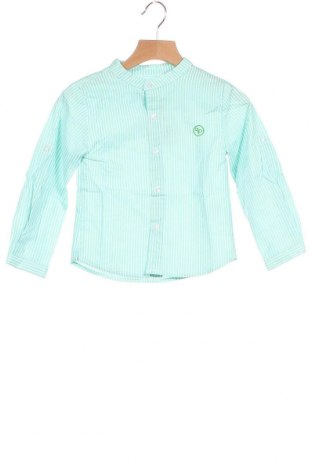 Παιδικό πουκάμισο Lola Palacios, Μέγεθος 3-4y/ 104-110 εκ., Χρώμα Πράσινο, Βαμβάκι, Τιμή 16,24€
