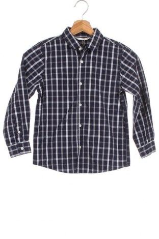 Παιδικό πουκάμισο Mango, Μέγεθος 6-7y/ 122-128 εκ., Χρώμα Μπλέ, Βαμβάκι, Τιμή 14,65€