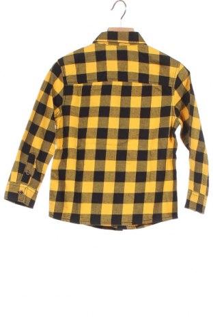 Παιδικό πουκάμισο Mango, Μέγεθος 4-5y/ 110-116 εκ., Χρώμα Κίτρινο, Βαμβάκι, Τιμή 18,44€